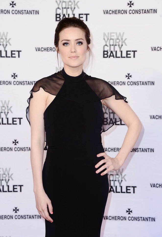Megan Boone - New York City Ballet 2015 Spring Gala in NY