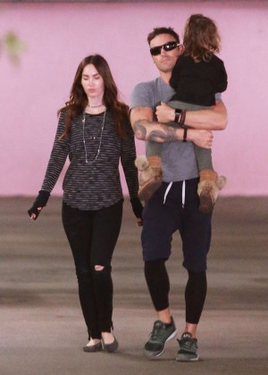 Megan Fox and Brian Austin Green out in LA