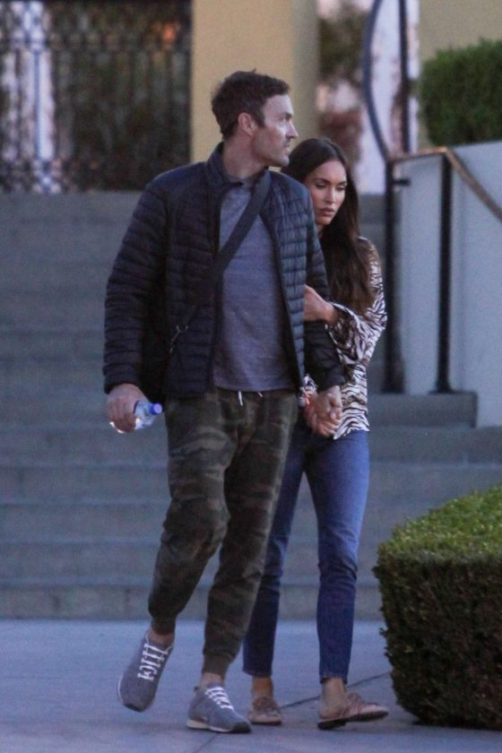 Megan Fox and Brian Austin Green: Out in LA -05