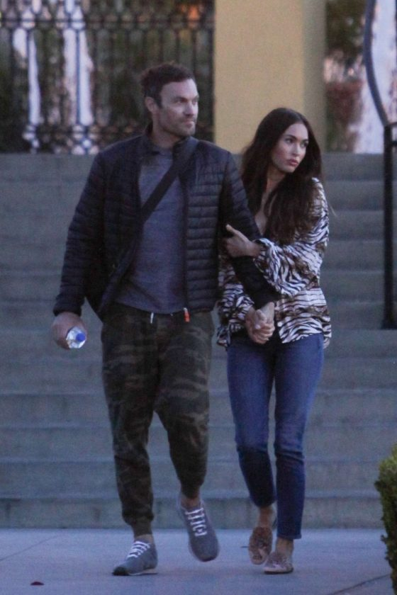 Megan Fox and Brian Austin Green: Out in LA -06