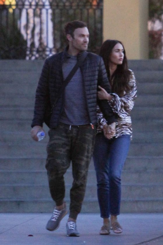 Megan Fox and Brian Austin Green: Out in LA -07