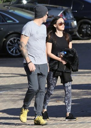 Megan Fox and Brian Austin Green out in Malibu