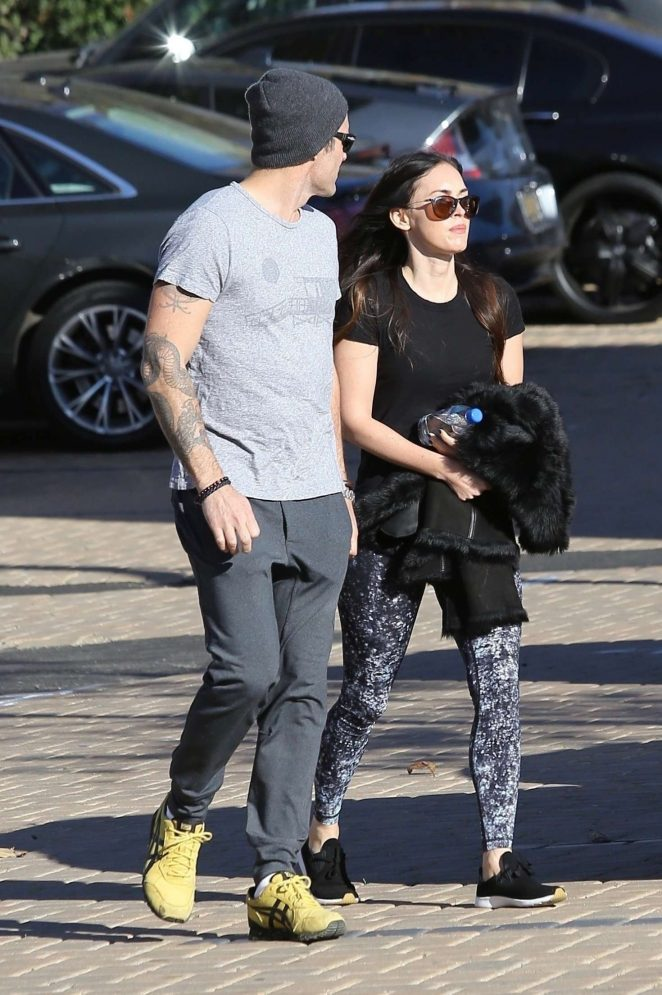 Megan Fox and Brian Austin Green out in Malibu