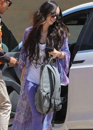 Megan Fox Arrives at a Nobu in LA
