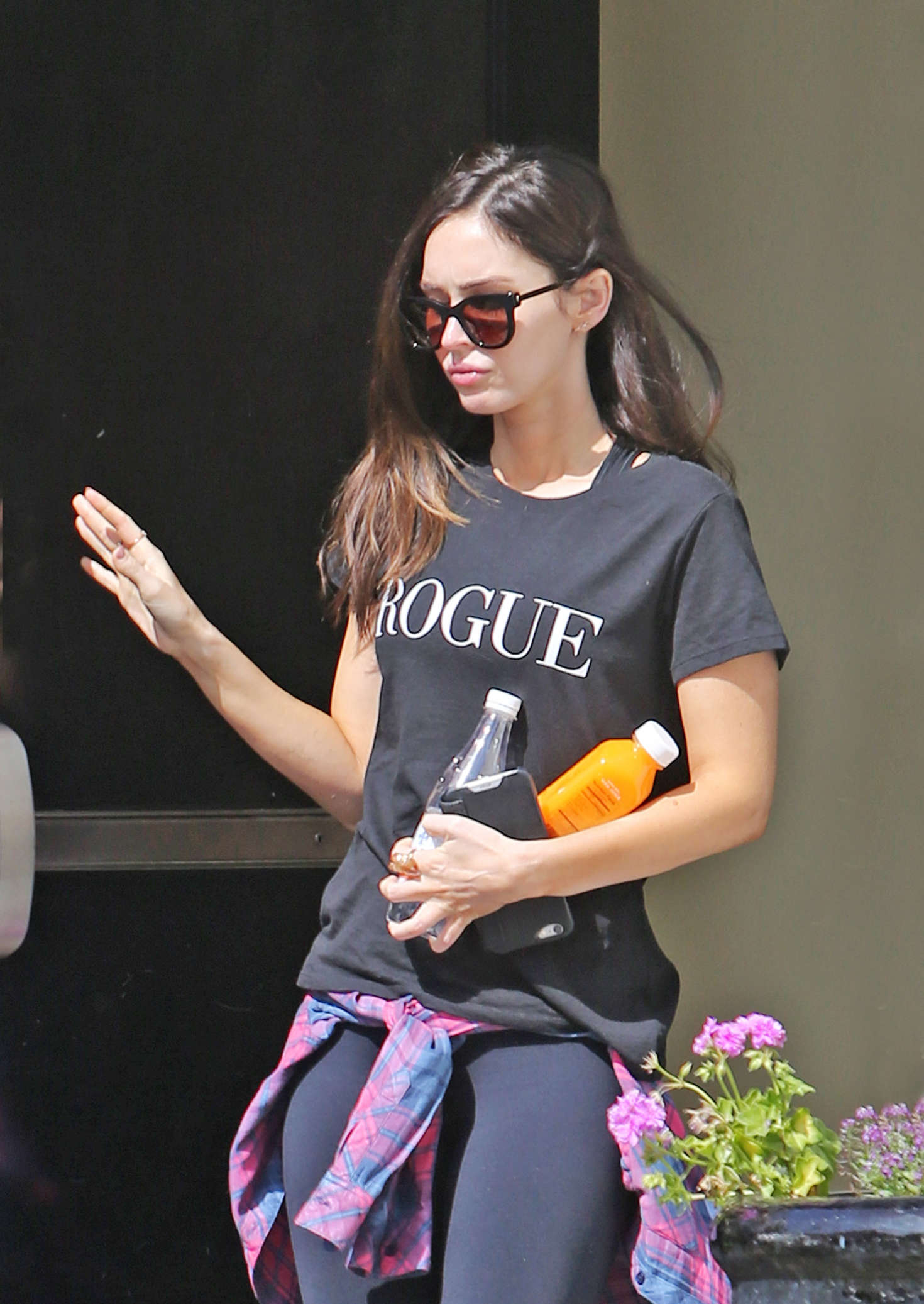 Megan Fox at Sweet Butter Cafe in Studio City