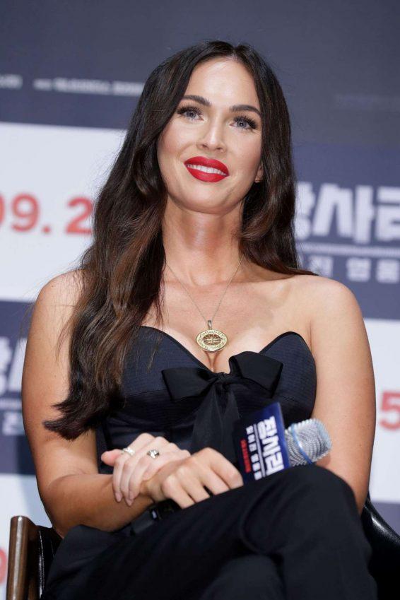 Megan Fox 2019 : Megan Fox – Battle Of Jangsari press conference in Seoul – South Korea-01