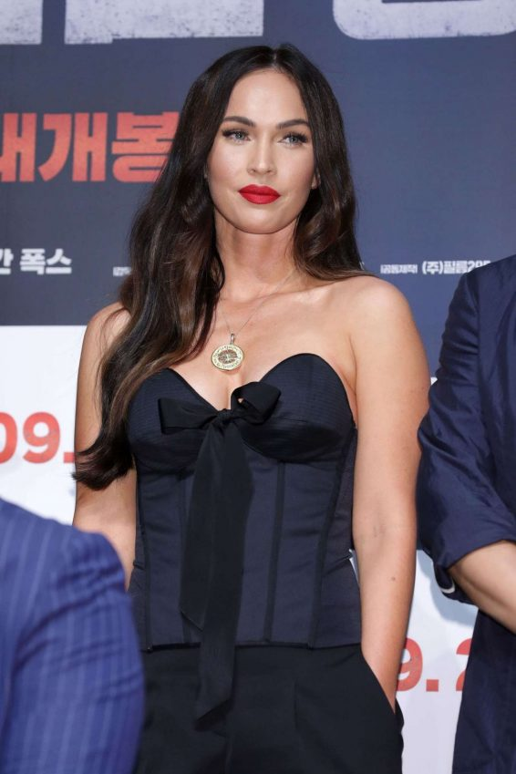 Megan Fox 2019 : Megan Fox – Battle Of Jangsari press conference in Seoul – South Korea-03