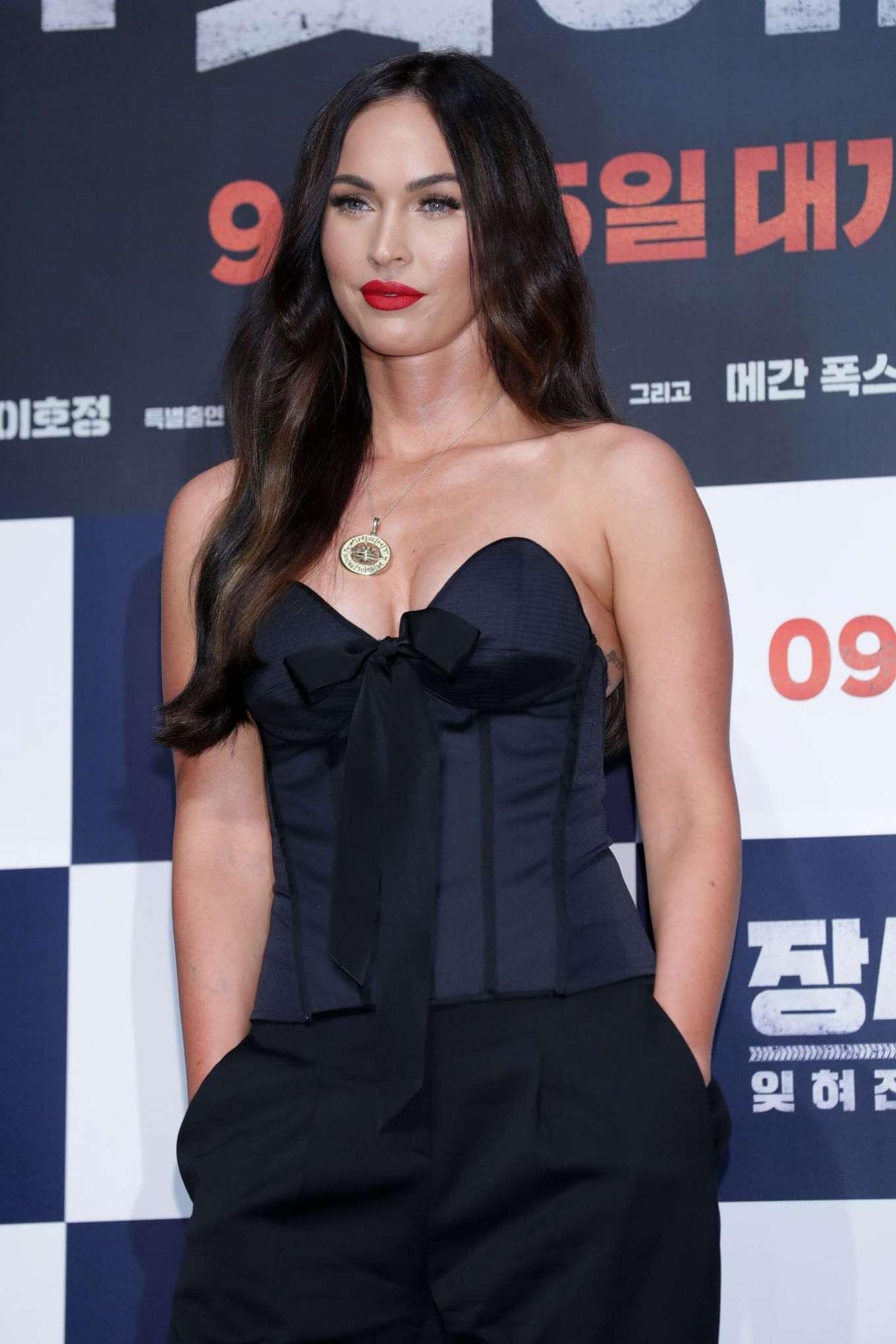 Megan Fox 2019 : Megan Fox – Battle Of Jangsari press conference in Seoul – South Korea-04