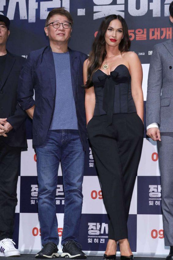 Megan Fox 2019 : Megan Fox – Battle Of Jangsari press conference in Seoul – South Korea-05