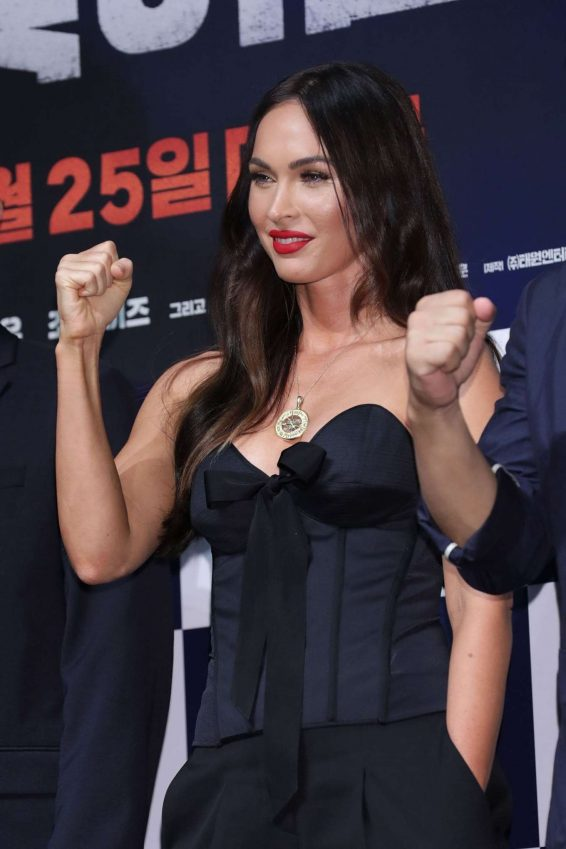 Megan Fox 2019 : Megan Fox – Battle Of Jangsari press conference in Seoul – South Korea-07