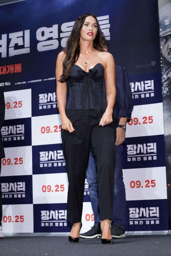 Megan Fox 2019 : Megan Fox – Battle Of Jangsari press conference in Seoul – South Korea-09