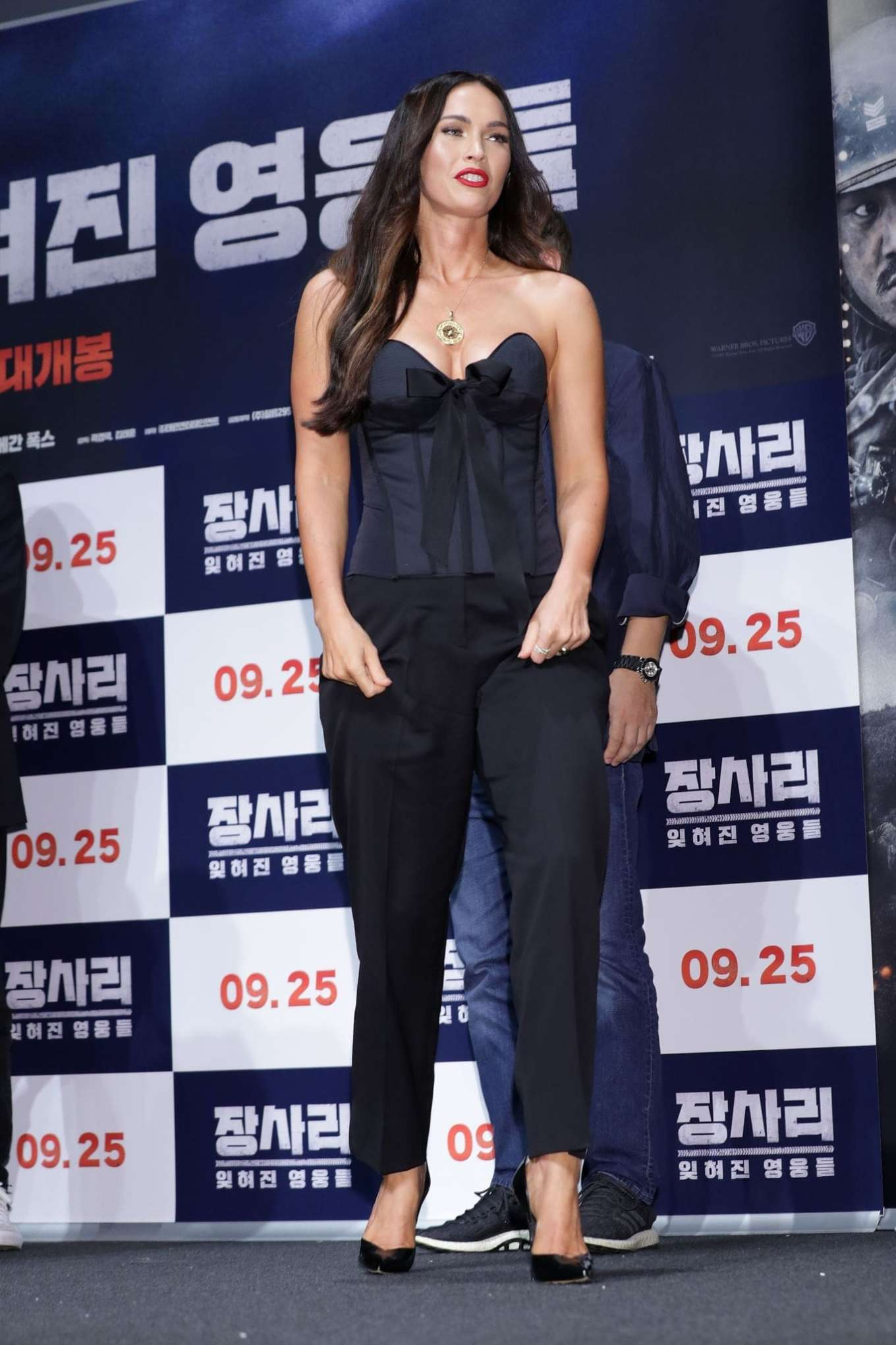 Megan Fox 2019 : Megan Fox – Battle Of Jangsari press conference in Seoul – South Korea-09