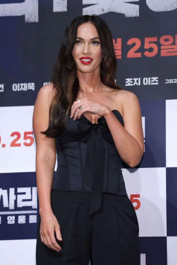 Megan Fox 2019 : Megan Fox – Battle Of Jangsari press conference in Seoul – South Korea-14