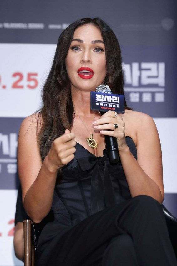 Megan Fox 2019 : Megan Fox – Battle Of Jangsari press conference in Seoul – South Korea-19