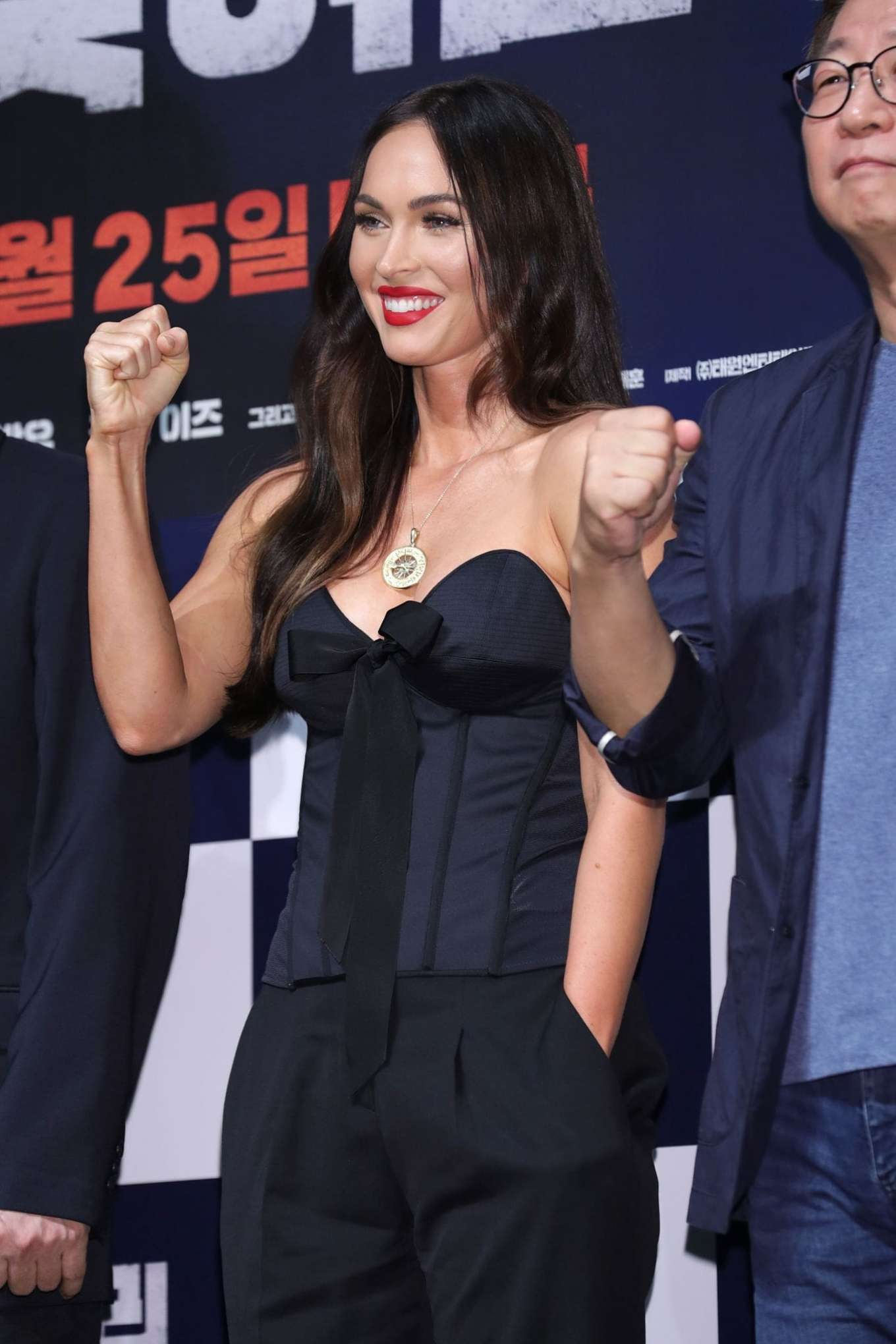 Megan Fox 2019 : Megan Fox – Battle Of Jangsari press conference in Seoul – South Korea-21