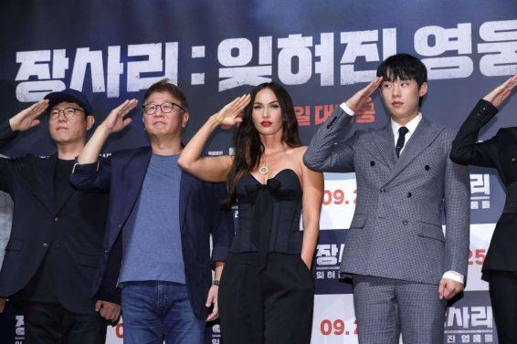Megan Fox 2019 : Megan Fox – Battle Of Jangsari press conference in Seoul – South Korea-27