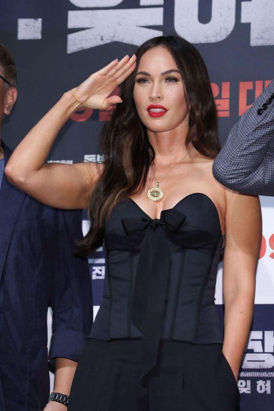 Megan Fox - 'Battle Of Jangsari' press conference in Seoul - South Korea