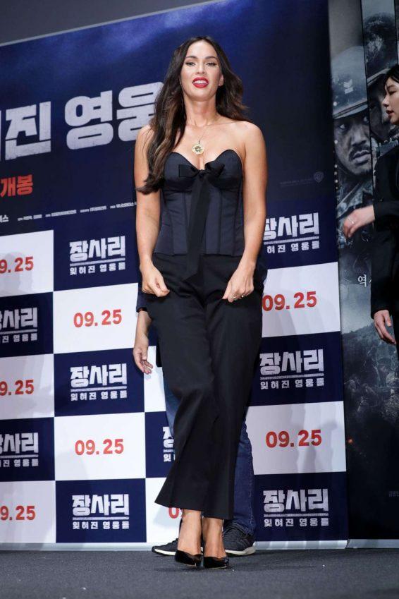 Megan Fox 2019 : Megan Fox – Battle Of Jangsari press conference in Seoul – South Korea-31