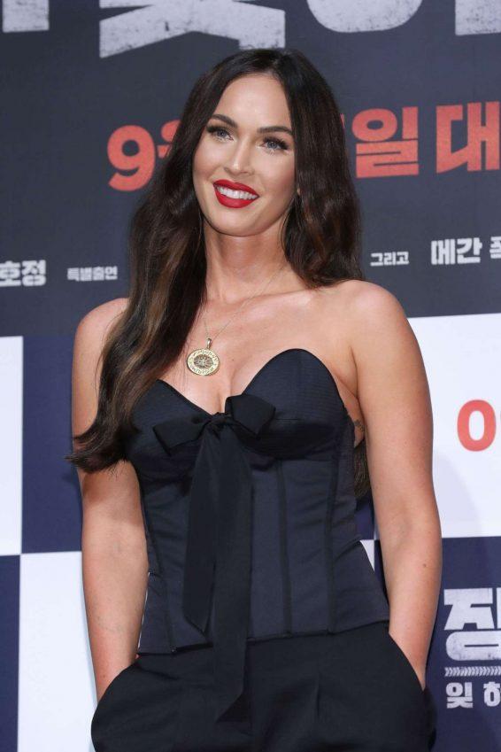 Megan Fox 2019 : Megan Fox – Battle Of Jangsari press conference in Seoul – South Korea-32