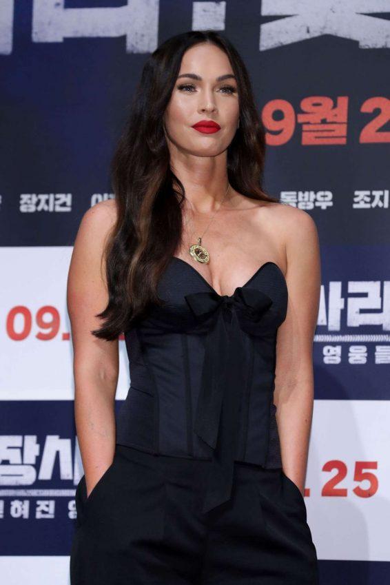 Megan Fox 2019 : Megan Fox – Battle Of Jangsari press conference in Seoul – South Korea-33