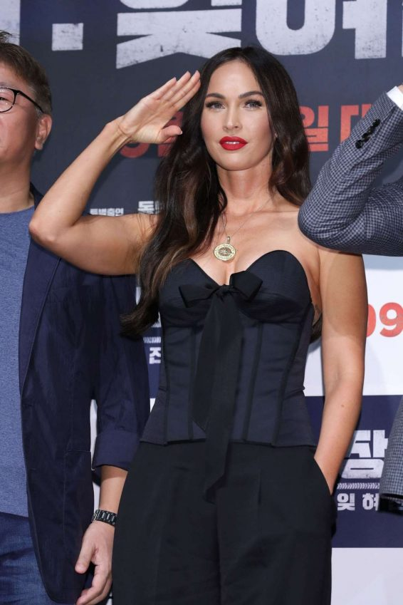Megan Fox 2019 : Megan Fox – Battle Of Jangsari press conference in Seoul – South Korea-35