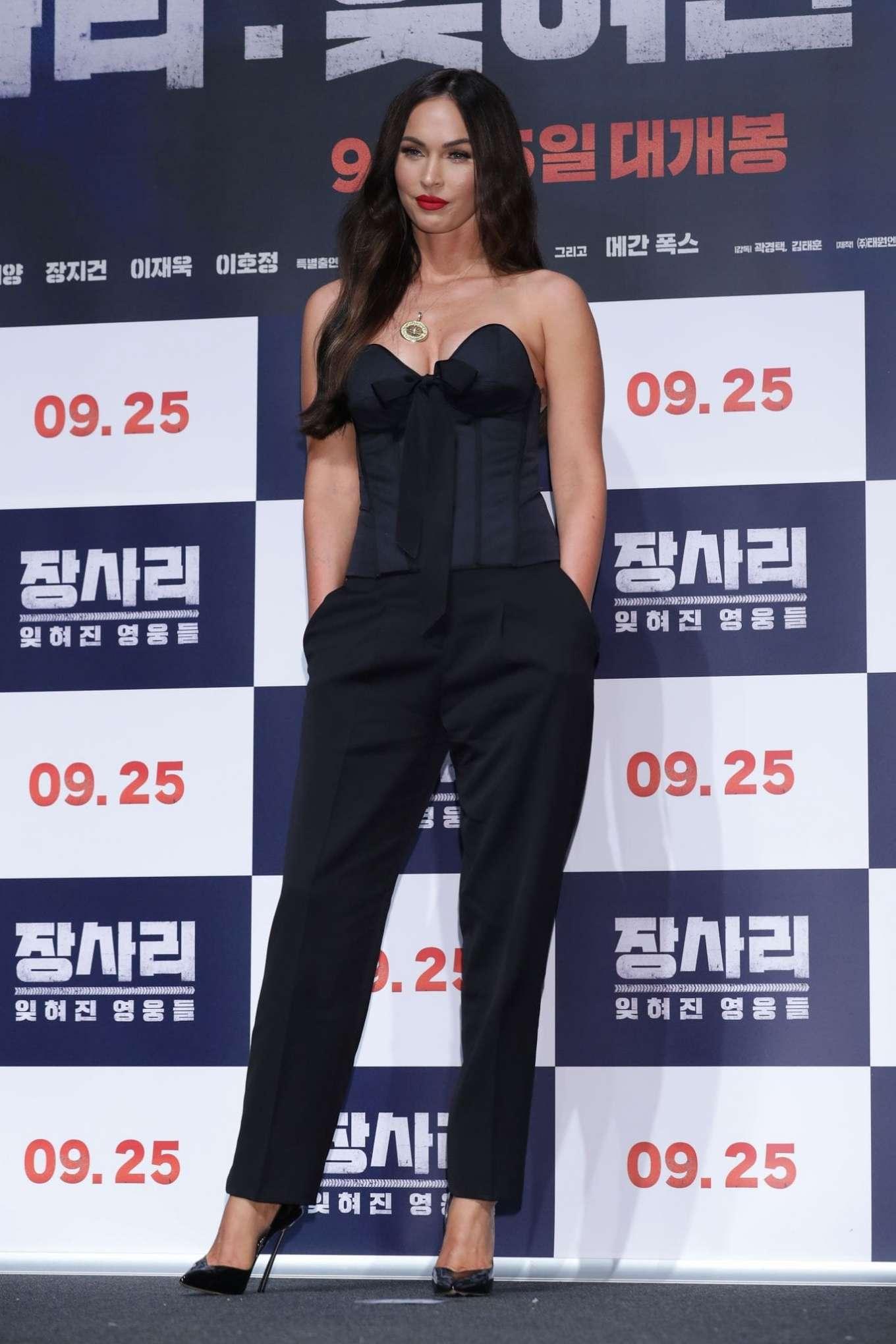 Megan Fox 2019 : Megan Fox – Battle Of Jangsari press conference in Seoul – South Korea-37