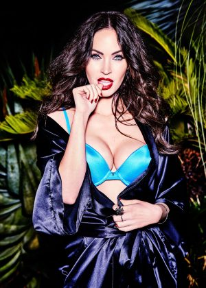 Megan Fox by Ellen Von Unwerth Shoot for Frederick's of Hollywood 2017