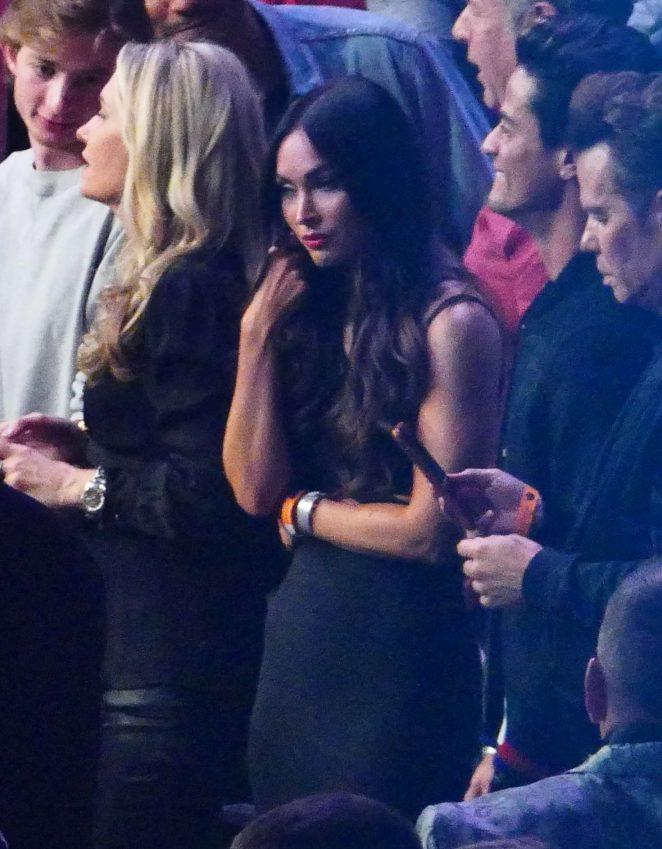 Megan Fox - Conor Mcgregor vs Khabib Nurmagomedov fight in Las Vegas