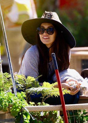 Megan Fox - Easter Egg Hunting at Underwood Family Farms in Moorpark California