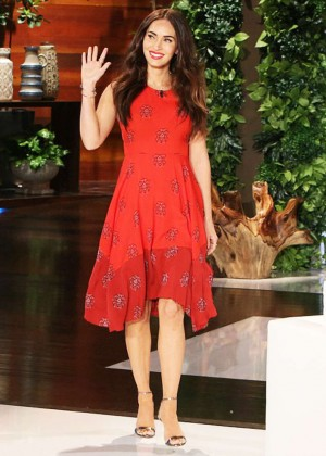 Megan Fox - Ellen DeGeneres Show in LA