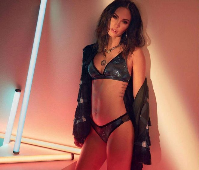 Megan Fox - Frederick's of Hollywood Collection Fall 2018 adds