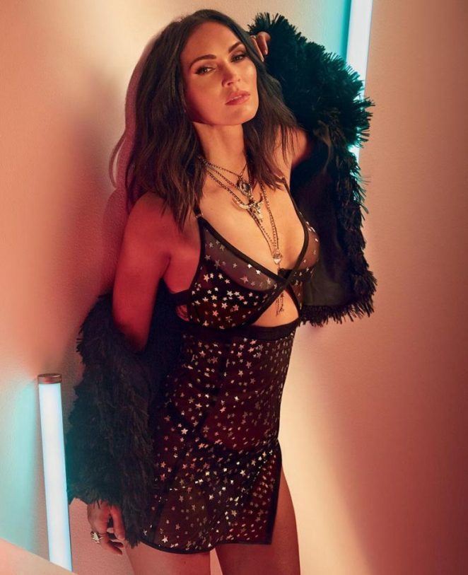 Megan Fox - Frederick's of Hollywood Collection Fall 2018