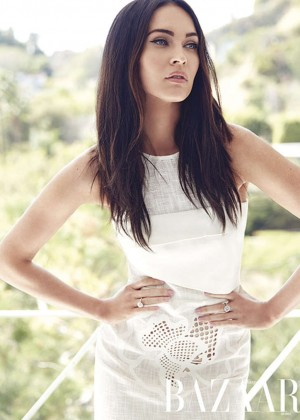 Megan Fox - Harper's Bazaar Arabia (April 2015)