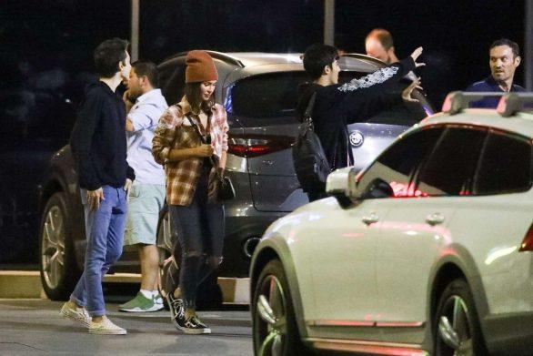 Megan Fox 2019 : Megan Fox – In a jeans seen leaving SUGARFISH in LA-06