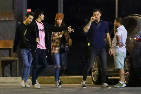 Megan Fox 2019 : Megan Fox – In a jeans seen leaving SUGARFISH in LA-09