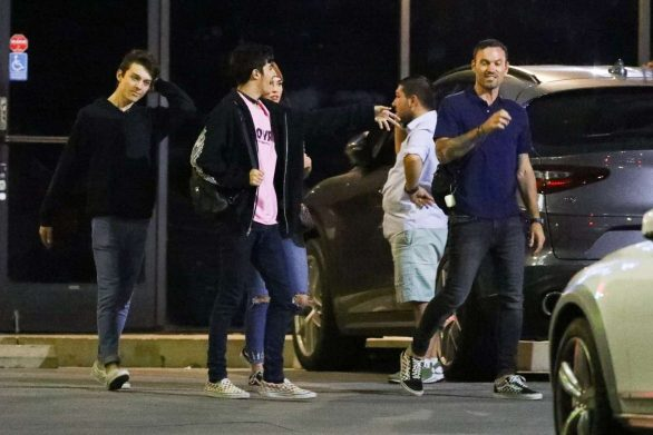 Megan Fox 2019 : Megan Fox – In a jeans seen leaving SUGARFISH in LA-11
