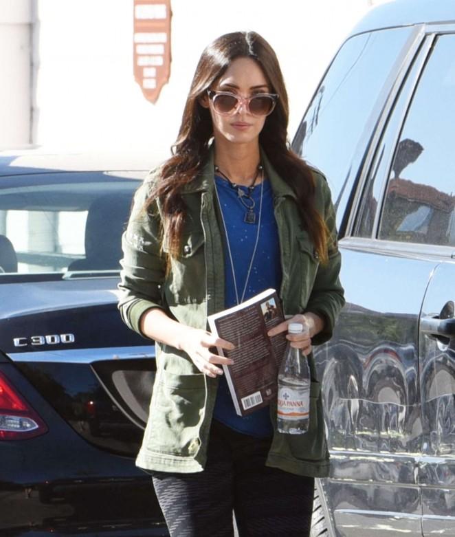 Megan Fox in Leggings Out in Los Angeles