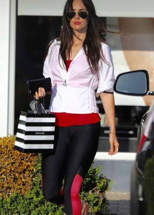 Megan Fox in Leggings out in Malibu