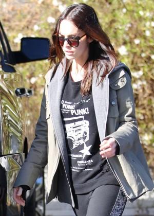 Megan Fox in Sweats Out in LA