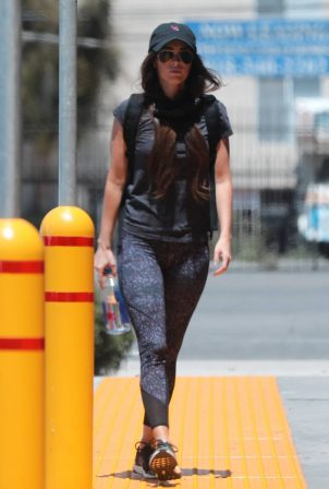 Megan Fox in Tights - Out in Los Angeles