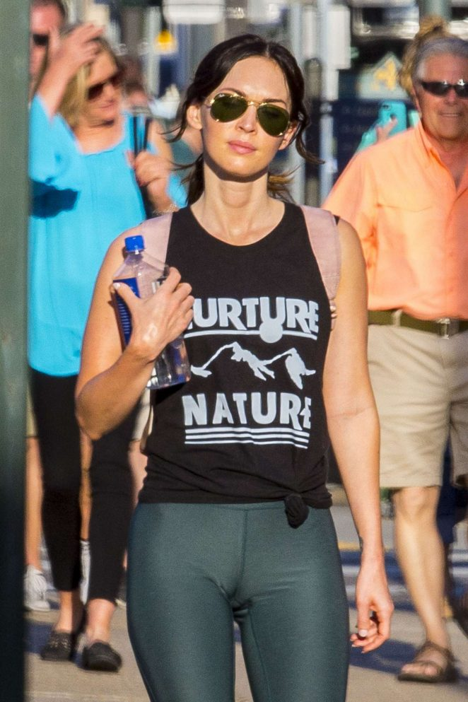 Megan Fox in Tights out in New Orleans