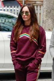 Megan Fox in Tracksuit - Shopping in Calabasas