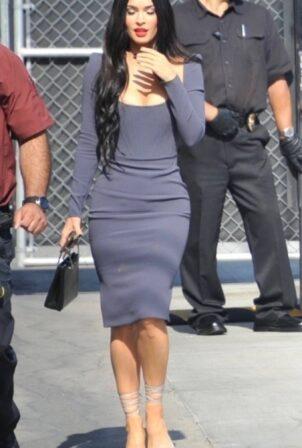Megan Fox - Is seen at Jimmy Kimmel Live in Los Angeles