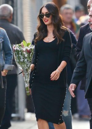 Megan Fox - Leaving 'Jimmy Kimmel Live' in Hollywood