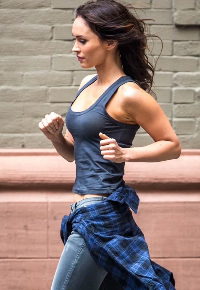 Megan Fox on 'Teenage Mutant Ninja Turtles 2' set in NYC