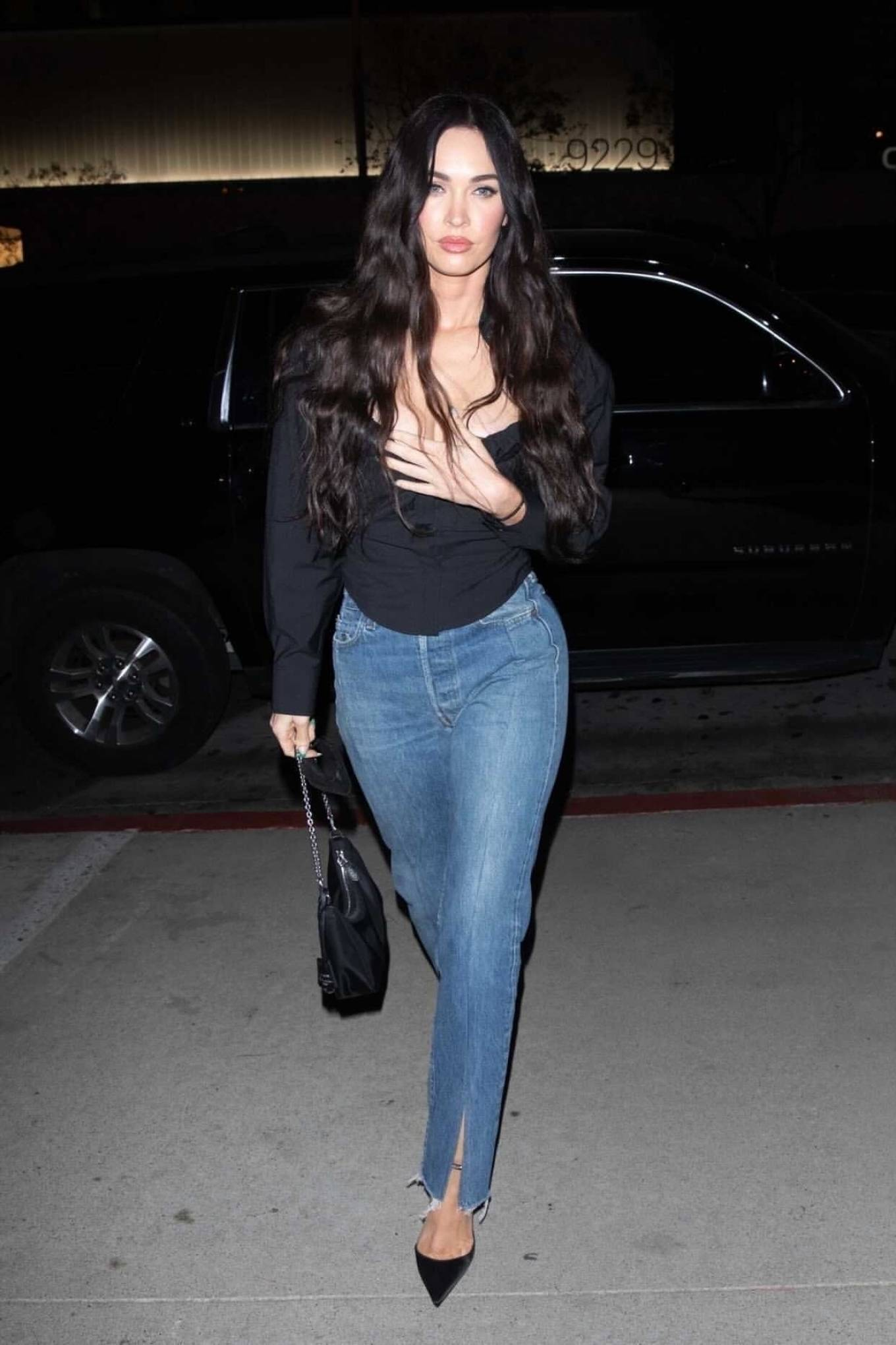 Megan Fox 2021 : Megan Fox – Out alone for dinner in West Hollywood-06