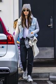 Megan Fox - Out for dinner in Los Angeles