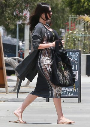 Megan Fox out for lunch in Los Angeles