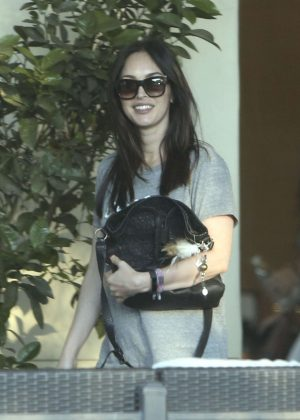 Megan Fox out in Calabasas
