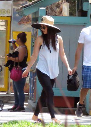 Megan Fox out in Santa Barbara